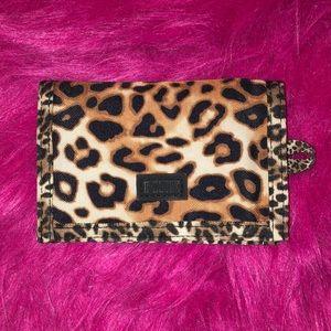 Victoria's Secret PINK cheetah print wallet